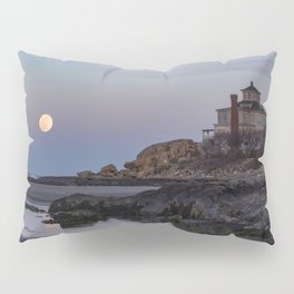 Full moon at Good Harbor Beach Pillow Sham