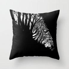 Nature Stripes Throw Pillow