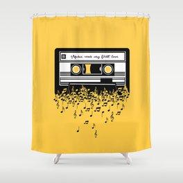 Retro Tape Shower Curtain