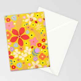 Wildflower Mustard Stationery Cards