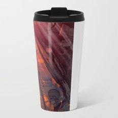 Orange Rabbit Metal Travel Mug