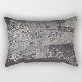 San Francisco City Map Rectangular Pillow