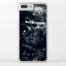 Pale Figure Clear iPhone Case