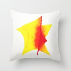 Geometric Sun Throw Pillow