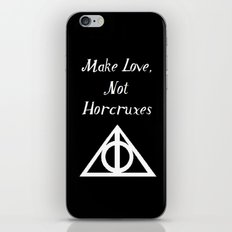 Make Love, Not Horcruxes iPhone & iPod Skin