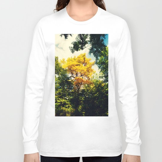 fall in Central Park Long Sleeve T-shirt
