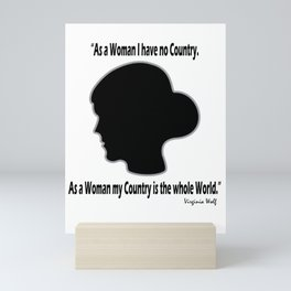 Virginia, My Dear Mini Art Print