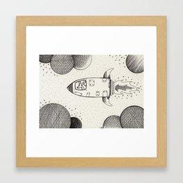 Spacerat´s Adventures Framed Art Print