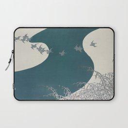 Kamisaka Sekka - Birds from Momoyogusa Laptop Sleeve