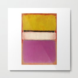 1950 White Center by Mark Rothko Metal Print