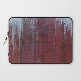 Red Wood Laptop Sleeve
