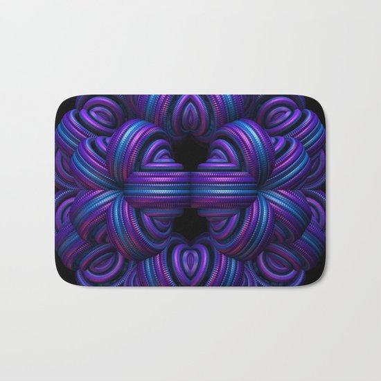 Purple Orb Bath Mat