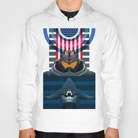 pacific rim Hoodies featuring Pacific Rim, Jaws edition by milanova