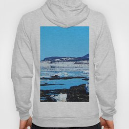 Winter Coastal Town Hoody