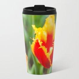 Fringed tulips Travel Mug