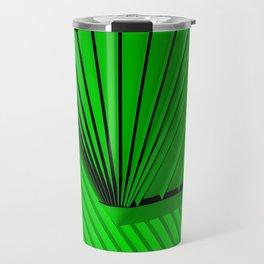 Lime Lines Study Travel Mug