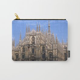 Vintage 1940's Color Photo Duomo di Milano Carry-All Pouch