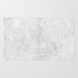 White Light Gray Concrete Rug