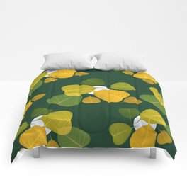 dead leaf club Comforters