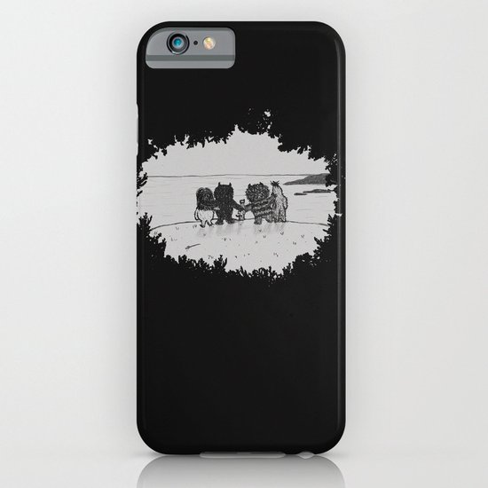 Surrounded By Your Friends iPhone & iPod Case
