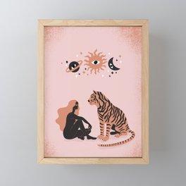 connection Framed Mini Art Print