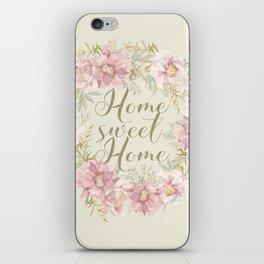Home Sweet Home 1 iPhone Skin