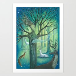 Advice From A Tree Art Print