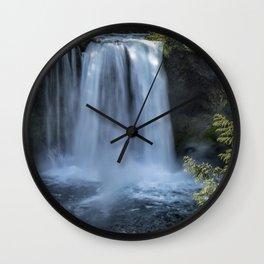Koosah Falls No. 3 Wall Clock