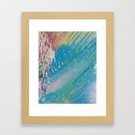 Waterslide Framed Art Print