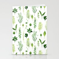 leaves Stationery Cards featuring Leaves by Vicky Webb