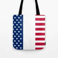 france Tote Bags featuring france by ovisum