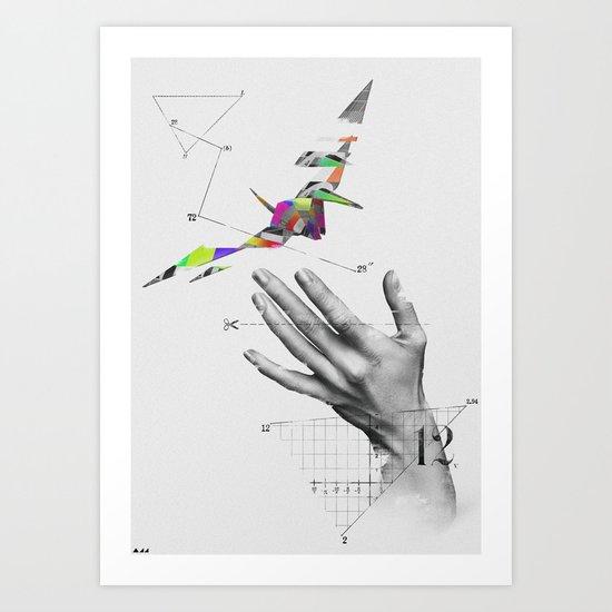 Simple Test Art Print