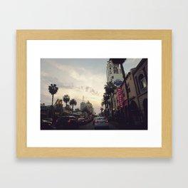 Walk of Fame Framed Art Print