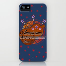 Americana - Lovin' it iPhone Case