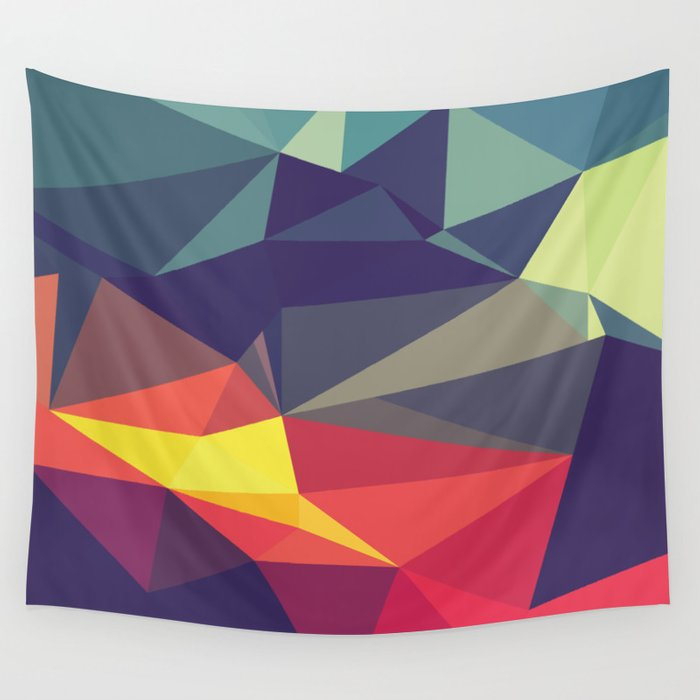 Flash Of Color Wall Tapestry