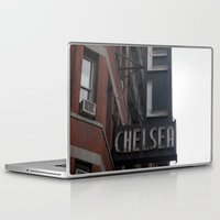 chelsea Laptop & iPad Skins featuring Chelsea by Leah Moloney Photo