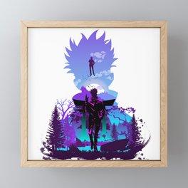Sensei Framed Mini Art Print