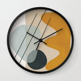 Abstract Shapes No.27 Wall Clock