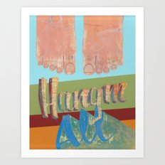 Hang'm All                                                                     Art Print