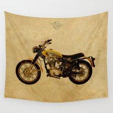 Ducati Scrambler 350 1970 Wall Tapestry