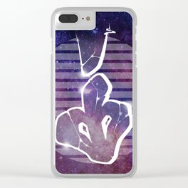 I - Graffiti letter Clear iPhone Case