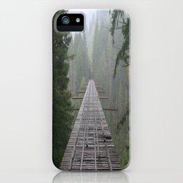 That NW Bridge - Vance Creek Viaduct. iPhone Case