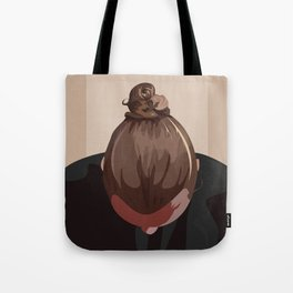 Man I Like Your Bun Tote Bag