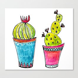 Cactus 89 Canvas Print