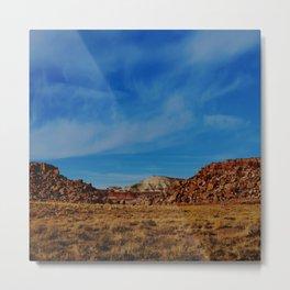 Wandering the Desert II Metal Print