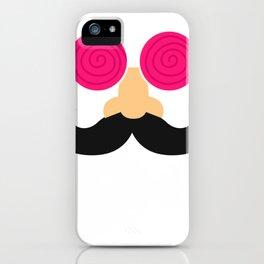 Hypnose Moustache iPhone Case