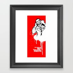 Same old shit! Framed Art Print
