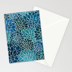 Floral Abstract 25 Stationery Cards