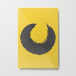 Amarelo cinza 01 Metal Print