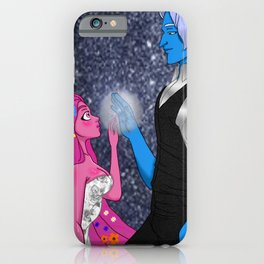Lore Olympus Hades and Persephone Fan art iPhone Case